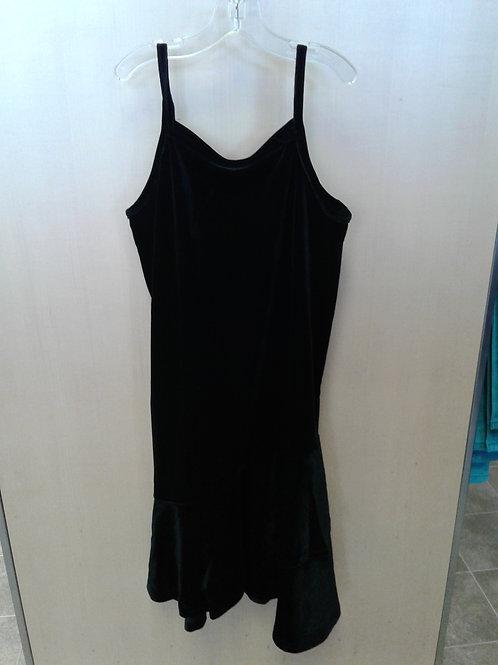 Name It velour dress, black