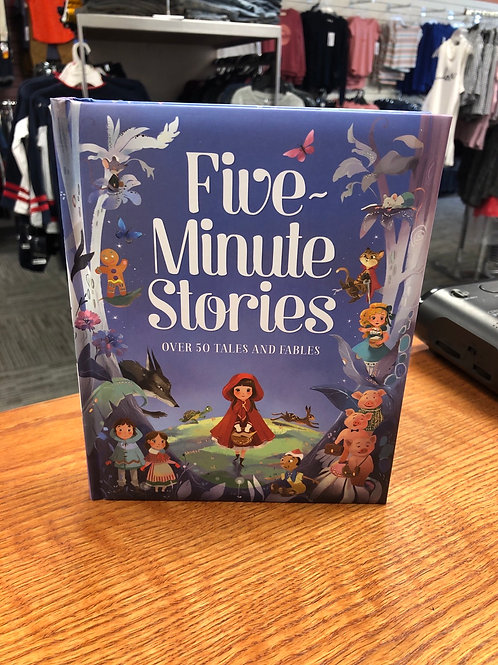 Five Minute Stories Book