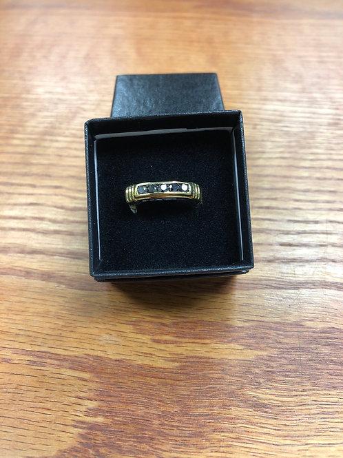 .50ctw Black Diamond Ring, Size 9