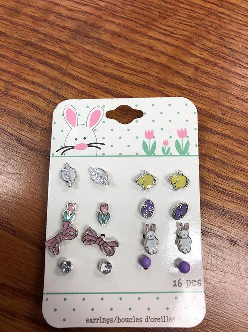 Easter Earings, 8 pairs