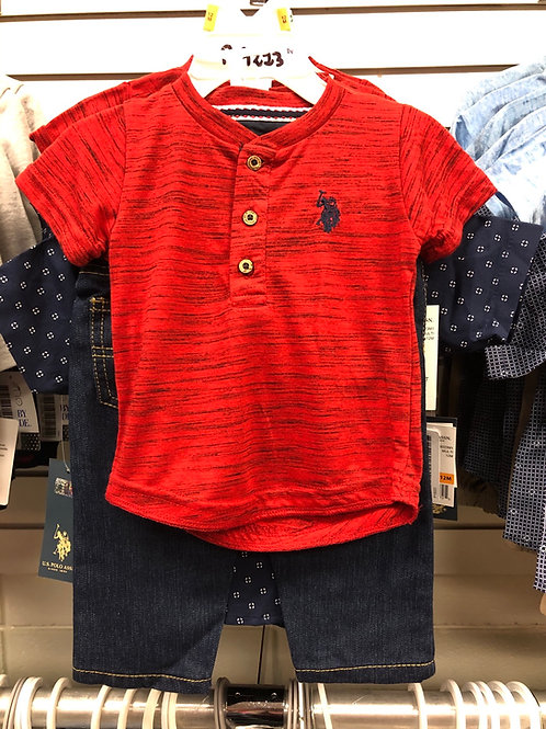 3 Piece Shirts & Jeans Set