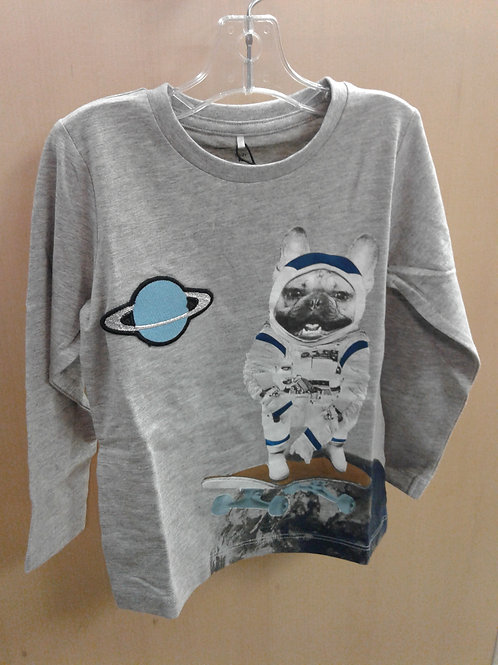Name It long sleeve top, space puppy