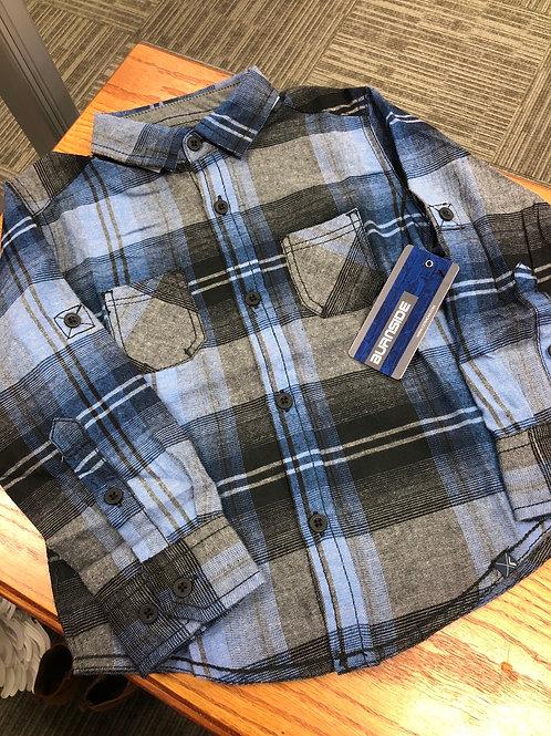 Burnside Woven Flannel Shirt