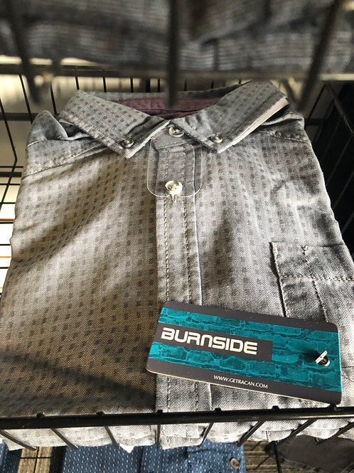 Burnside Dress Shirt , Grey