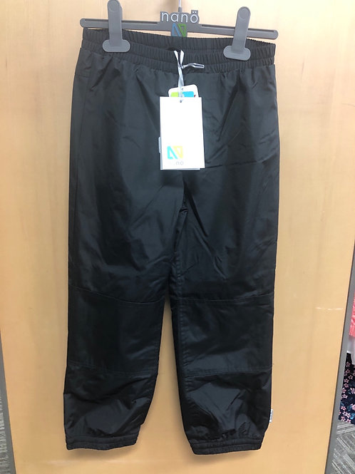 Nano Lined Rain Pant, Black