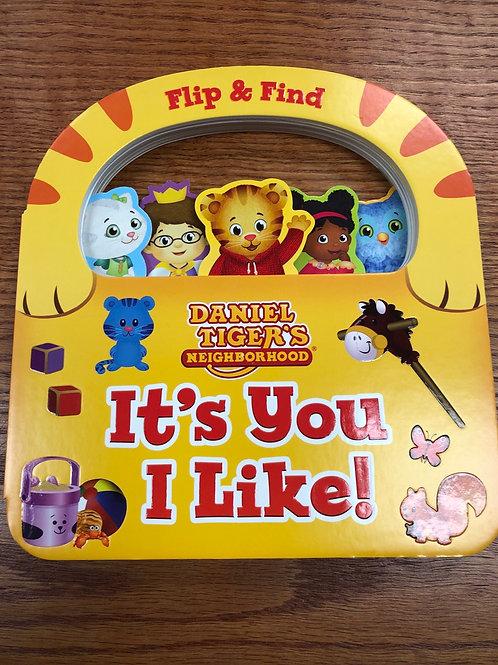 Daniel Tiger's Neighborhood Flip & Find Book
