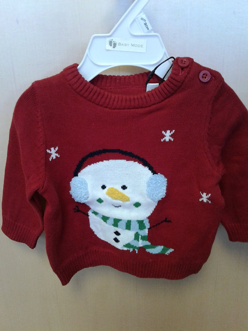 Name It holiday sweater, red