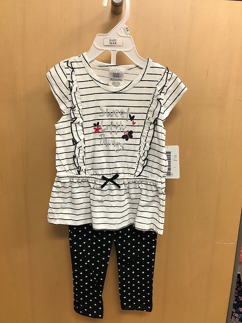 Baby Mode 2 Piece Legging Set (12-24m)
