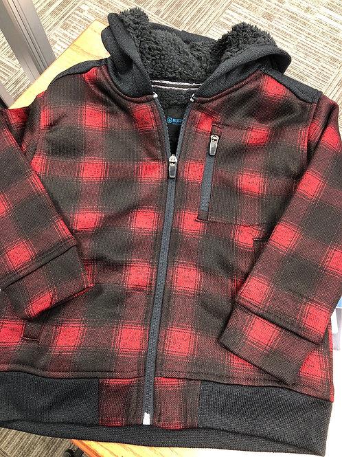 Burnside Sherpa Hooded Full Zip Hoodie