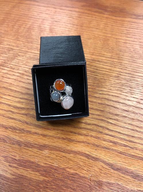 3.60ctw Rose Quartz Ring, Size 6