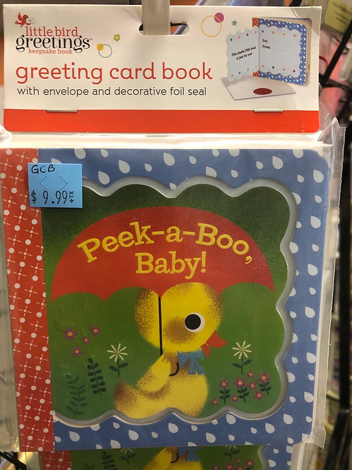 Peek-a-Boo Baby Greeting Card Book