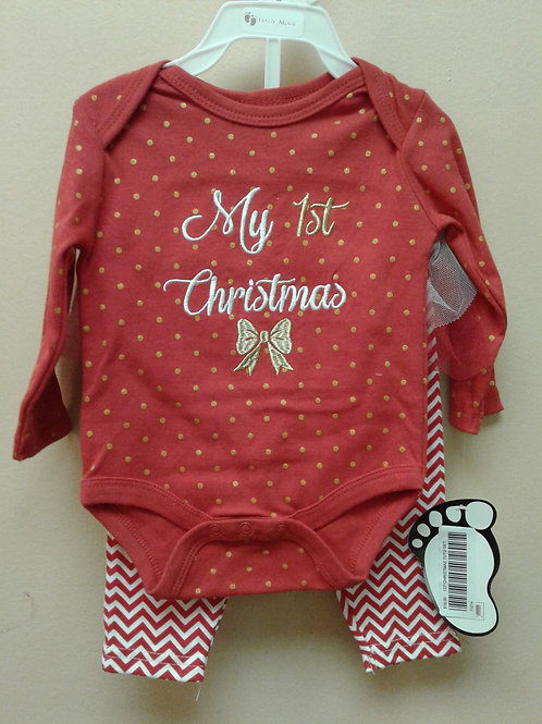 Baby Mode 2 piece Christmas set