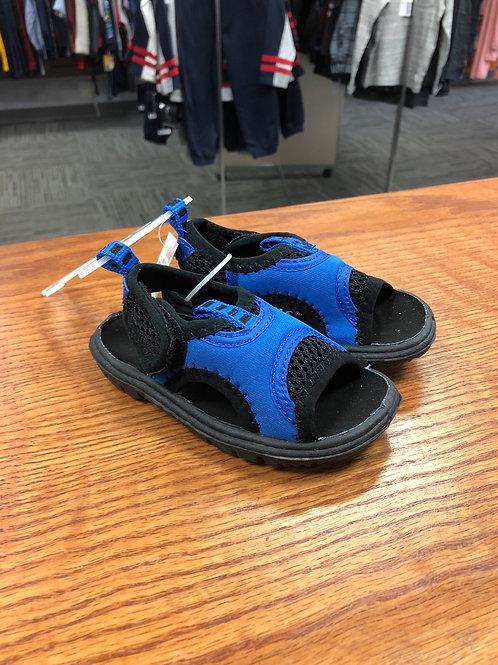 Toddler Velcro sandal , blue