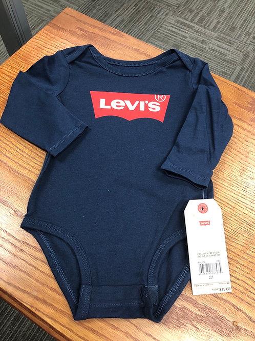 Levi's L/S Bodysuit, 12m - 24m