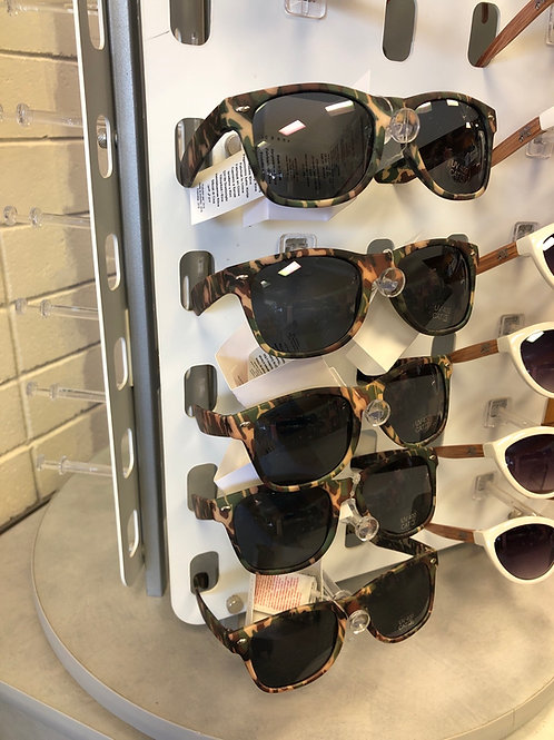 Sunglasses , camo
