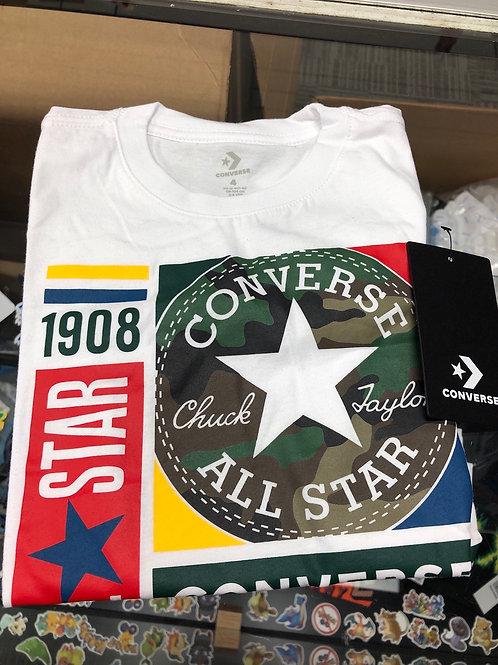 Converse Mixed Boxes Camo Tee, 4-7