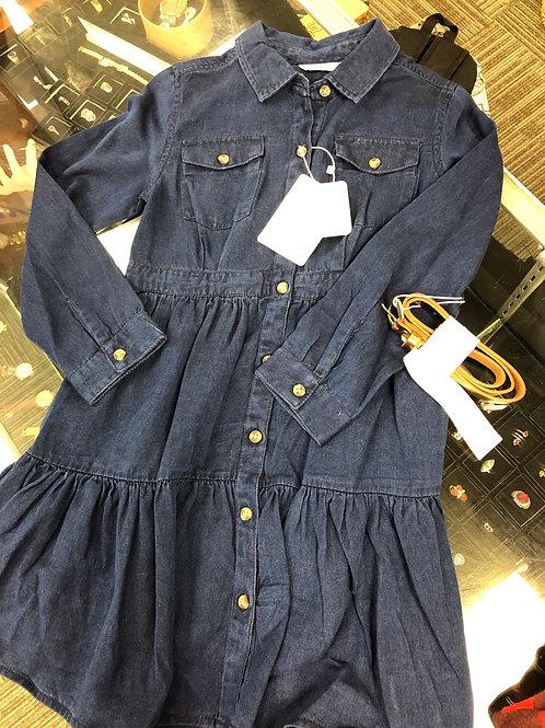 Mayoral Denim Dress w/Belt