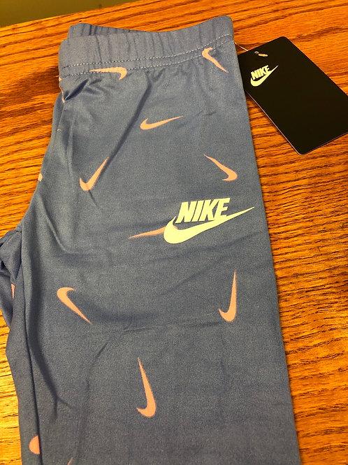 Nike Legging, blue/pink