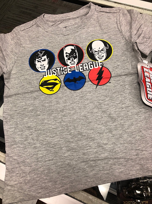 Justice League Tee, 2T-4T