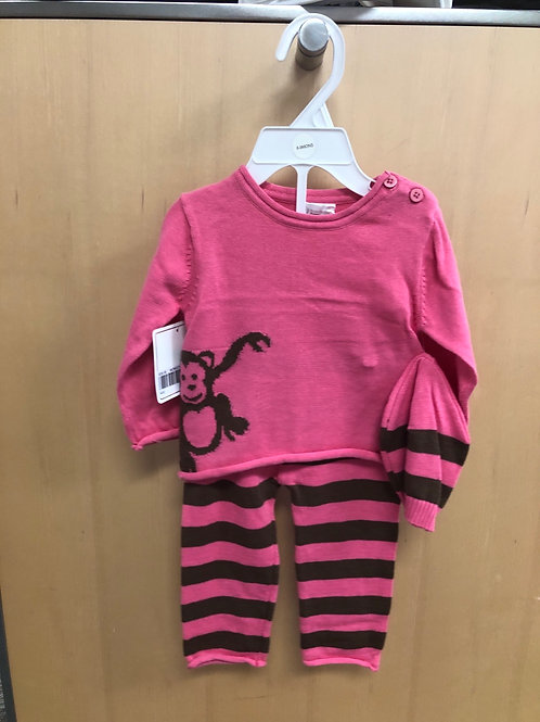 3PC Sweater, Hat & Legging Set