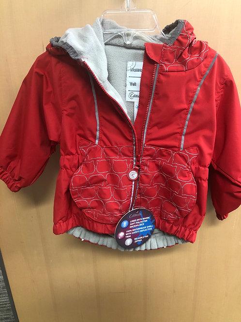 Calikids Rain Jacket, red