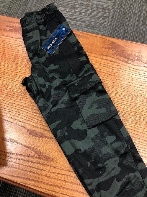 Burnside Joggerw/cargo pocket, Green