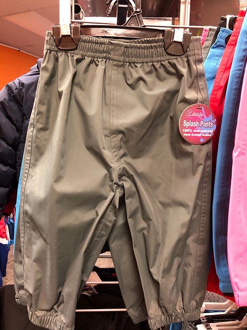 Calikids splash Pants, Dark Grey