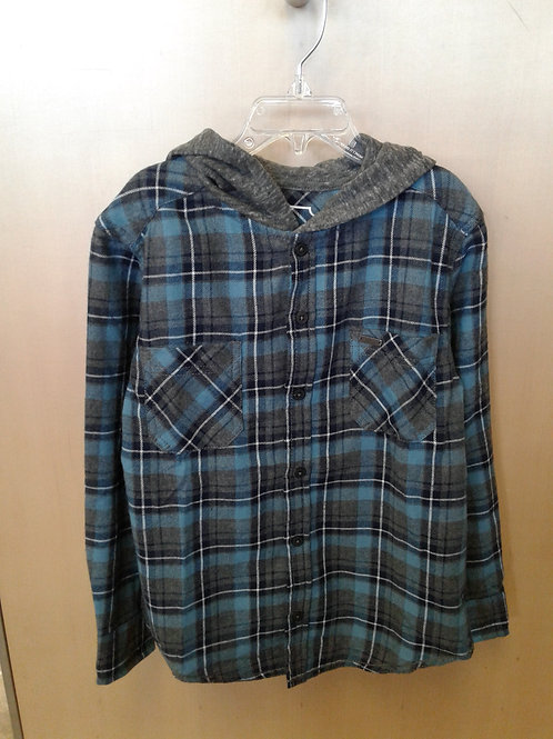 Burnside flannel hoodie
