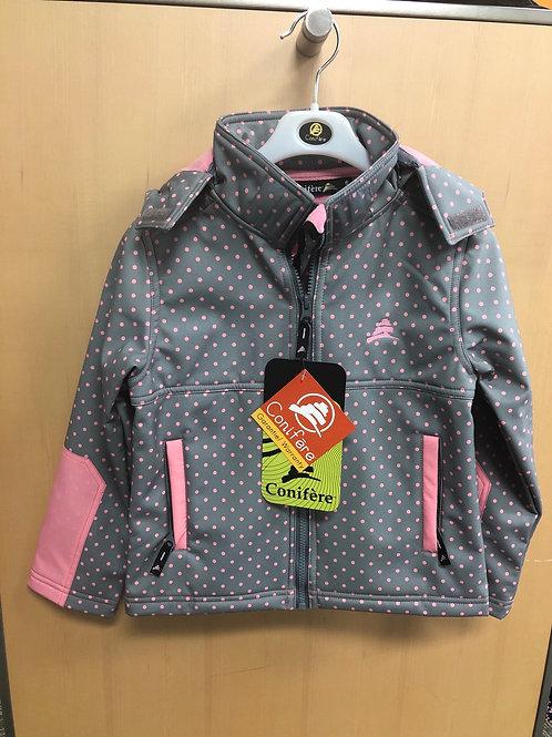 Conifere soft shell rain jacket