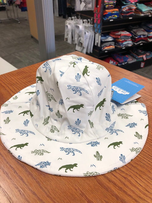 Jan & Jul Cotton Floppy Hat, Dino