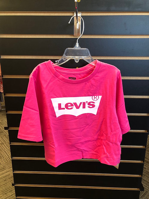 Levi's Cropped Tee, pink