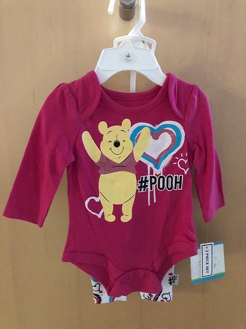 Disney Baby 2 piece legging set, Winnie-the-Pooh