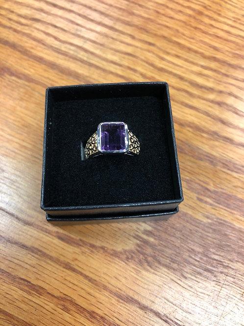 3.25ctw Amethyst Ring, Size 6