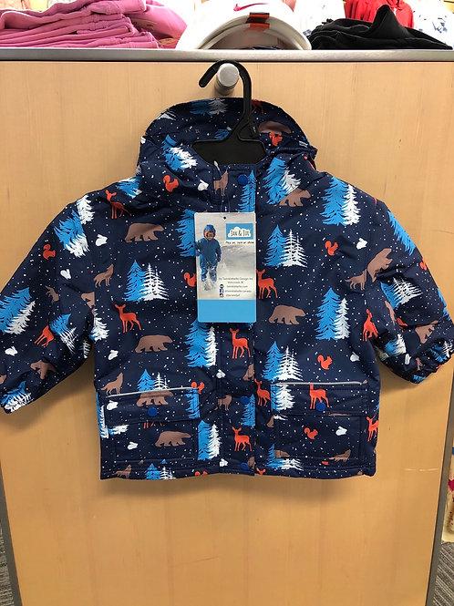 Jan & Jul Fleece Lined Rain Jacket