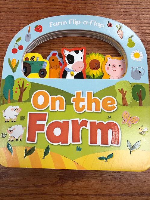 On The Farm Flip-a-Flap Book
