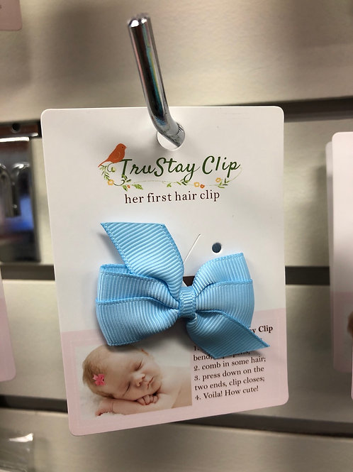 Toddler Hair Clip, Blue