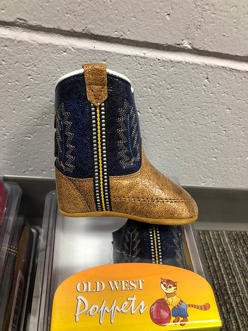 Old West Poppet Cowboy Boot