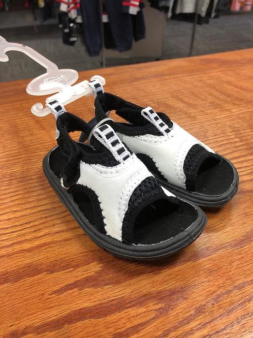Toddler Velcro sandal, white