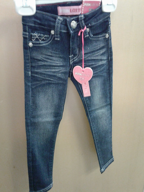Pink Latte denim pants, dark blue