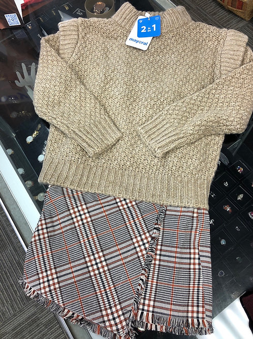 Mayoral 2pc Sweater & Dress Set