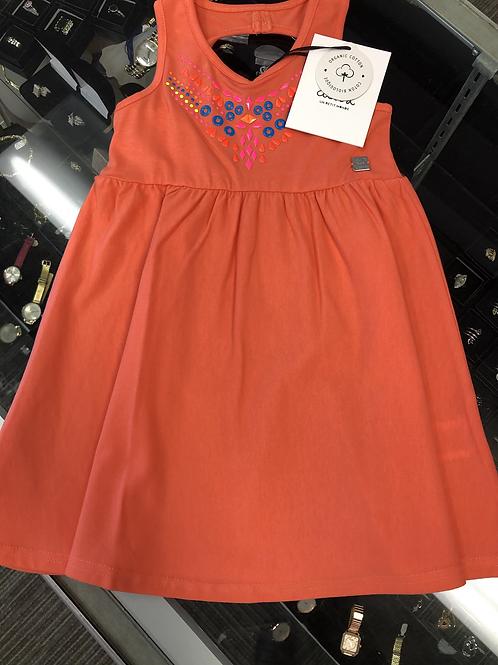 Deux Par Deux Organic Cotton Dress, 7-12