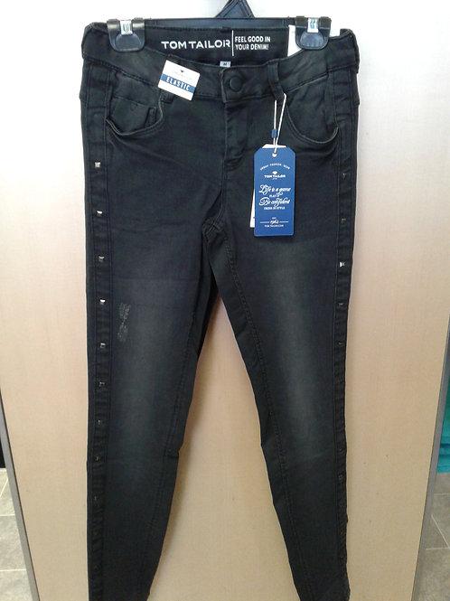 Tom Tailor stretch denim jeans, black
