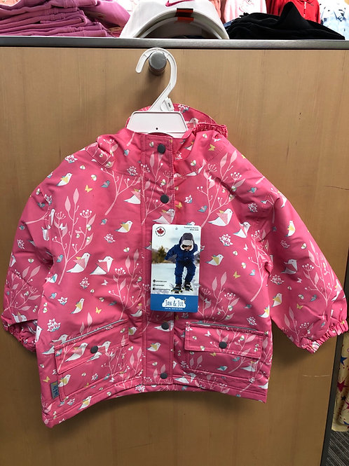 Jan & Jul Fleece Lined Rain Jacket