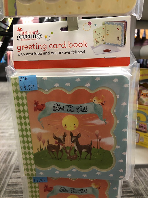 Bless This Child Greeting Card Book