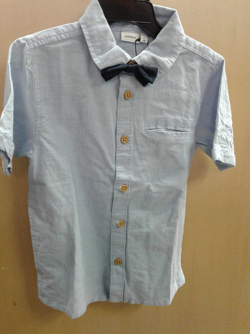 Name It short sleeve shirt with bowtie