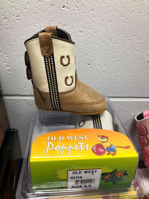 Old West Poppet Cowboy/Cowgirl Boot