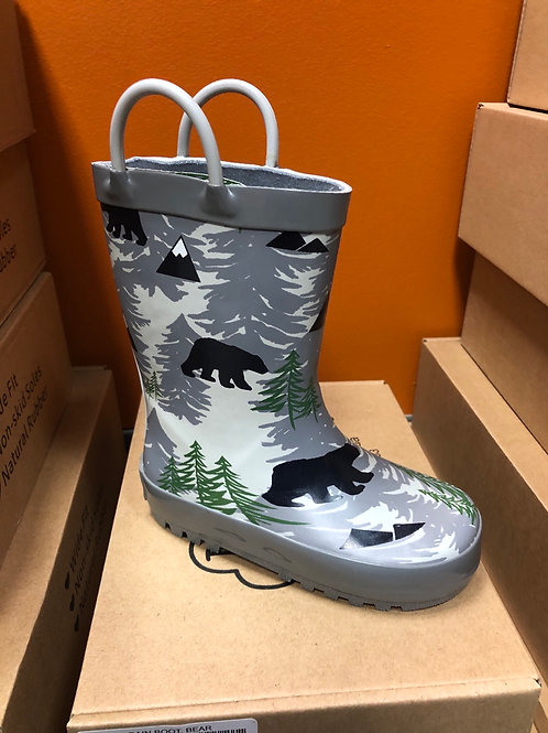 Toddler Rain Boot, Bear