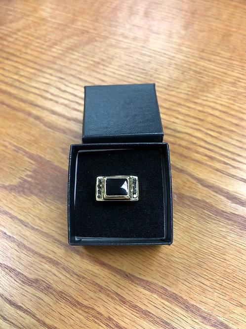 2.0ctw Black Onyx Ring, Size 9