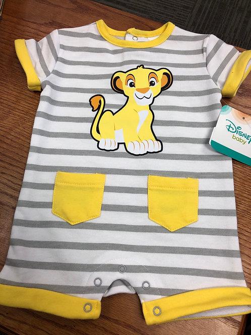 Disney Baby Romper, 3m - 24m