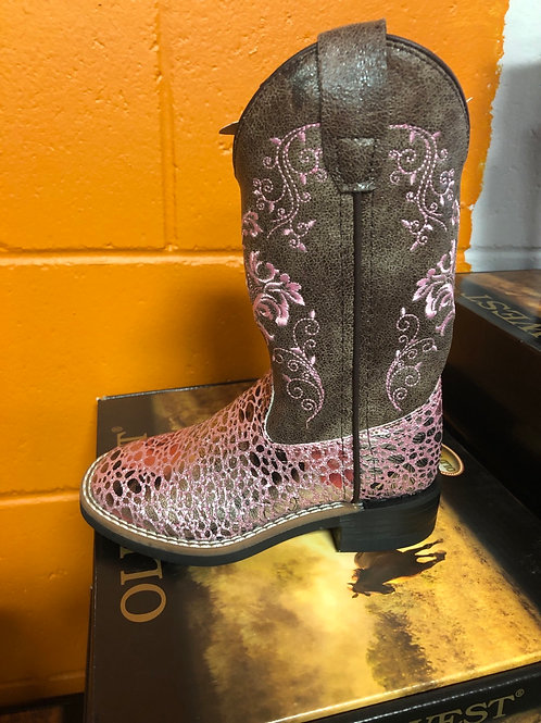 Old West Cowgirl Boot, youth